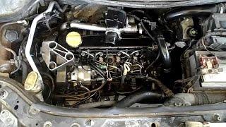 lavage Moteur-Megane -Clio-dacia  dci غسيل محرك ميجان كليو