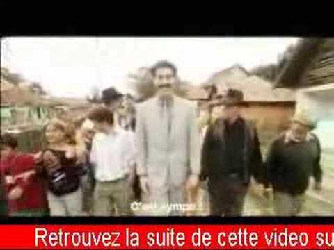 Interview de Borat !