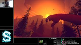 Firewatch First Playthrough by LotsOfS