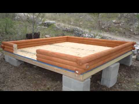 Landscape Timber Cabin Youtube
