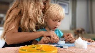 КАК СДЕЛАТЬ ЖИВОТНЫХ ИЗ МЫЛА?/ Видео для детей