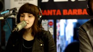 "CHVRCHES - ""Recover"" (Live at 92.9 KJEE)"