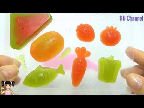 BabyBus - Tiki Mimi và Trò Chơi popin cook làm kẹo dẻo rau quả