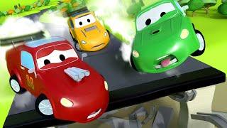 Download Гигантский грузовик пылесос - Трансформер Карл в Автомобильный Город 🚚 ⍟ детский мультфильм Mp3 and Videos