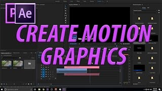 How to Create Motion Graphics Templates with Essential Graphics in Adobe After Effects CC (2017)