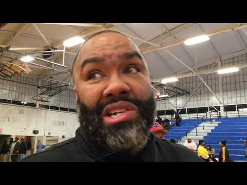 Detroit King basketball coach George Ward shares thoughts after 60-49 win over Woodhaven
