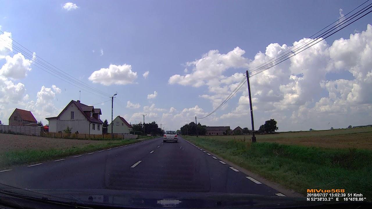 27072018 Dw187 Uścikowo Oborniki Wlkp Peugeot Pnt34508 Youtube