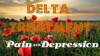Delta Treatment | Sublimals for Pain Relief and Depression | Isochronic Tones