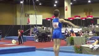 Vahe Level 5 Boys Gymnastics Arizona Regional Championships 2014