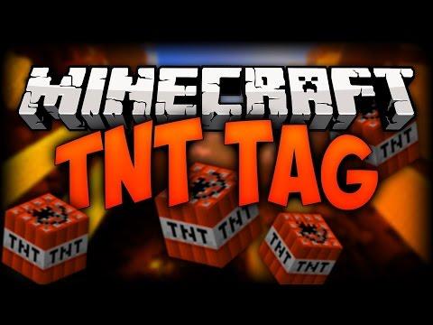 Minecraft Pocket Edition:TNT Tag Let Play! #1