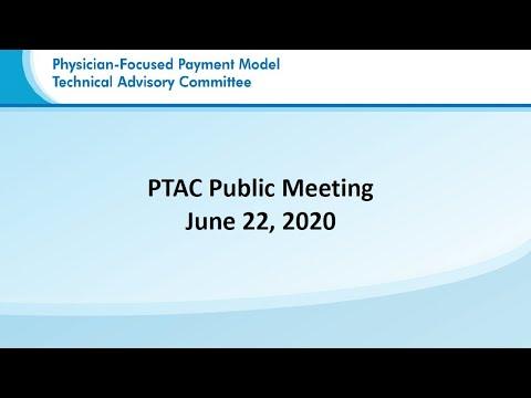 PTAC Public Meeting | ACAAI Proposal | June 22, 2020 | Part 2 Of 2