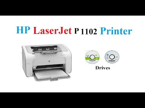 HP LaserJet P1102 Driver