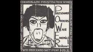 "Barbed Wire - ""weapons of war"" - uk82 punk - Bullshit Detector 3"
