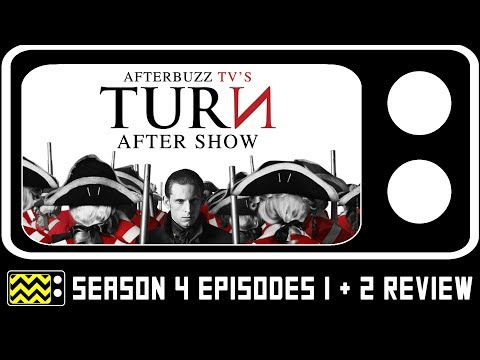 Turn Season 4 Episodes 1 & 2  w Amy Gumenick and Josh Price  AfterBuzz TV