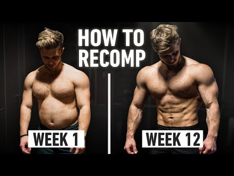 How To Build Muscle And Lose Fat At The Same Time: Step By Step Explained (Body Recomposition)