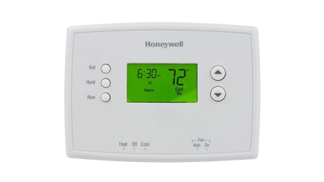 Honeywell Thermostat Rth2300b1038 Wiring Diagram External Frog 5 2 Day Programmable Rth2300b1012 Youtube