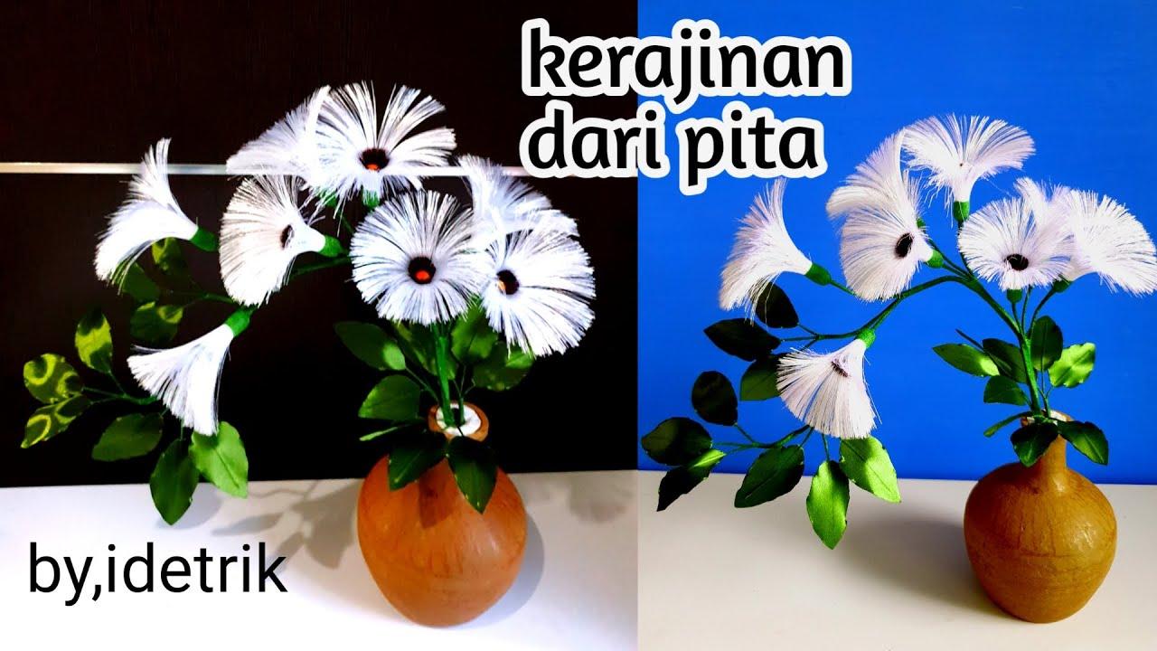 Kerajinan Tangan Dari Pita Diy Ide Kreatif Pita Satin Tanaman Hias Dari Pita Satin Youtube Kerajinan tangan dari tumbuhan