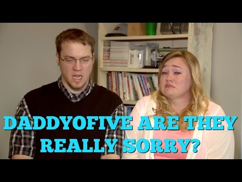 Thumbnail: Is DaddyoFive REALLY SORRY?! Or is it FAKE?