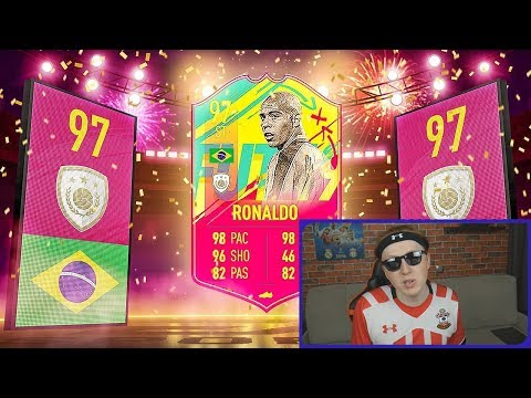 ЗУБАСТИК РОНАЛДО 97 В ПАКЕ || RONALDO 97 IN A PACK || ICON RONALDO IN A PACK