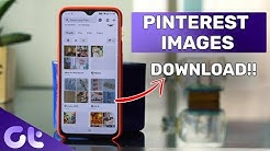 How to Download Pinterest Images on Android, iPhone and Windows Easily | Guiding Tech