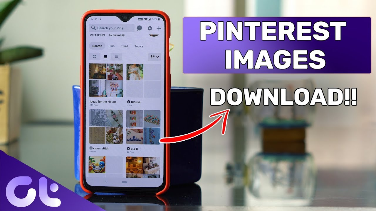 How to Download Images from Pinterest on Desktop and Mobile