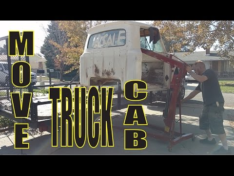 Moving Truck Cab by Yourself