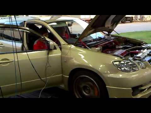 Mitsubishi Airtrek Turbo w Evo 9 Engine  Manual - 346bhp On Wheel