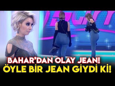 Bahar Candan,  Öyle Bir Jean Giydi ki Jüri Hayran Kaldı!