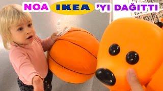 Noa Ikea'yı Dağıttı | Bizim Aile Eğlenceli Çocuk Videoları