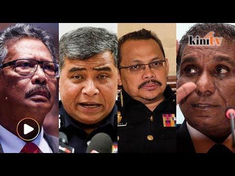 Disenarai hitam! Apandi, Khalid, Dzulkifli dan Irwan