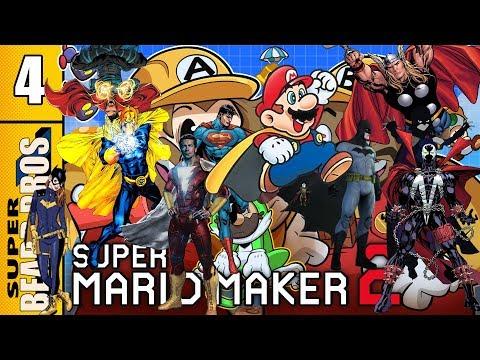 All Heroes Wear Capes 4 | Super Mario Maker 2 | Super Beard Bros.