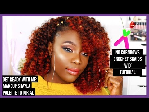CROCHET BRAIDS WITHOUT CORNROWS