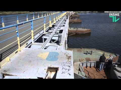 Неудавшаяся разводка Ингульского моста в Николаеве