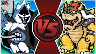 CHAOS KING vs BOWSER! (Undertale, Deltarune Animation)   Cartoon Fight Club Episode 297