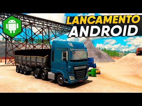 JOGANDO! Truck Simulator Eastern Roads - Novo Jogo de Caminhão Realista para Android - Nova Gameplay