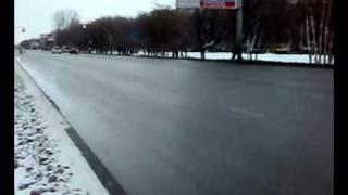 Медведев в Барнауле. Город умер. Хроника событий xD