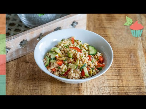 Israeli Couscous Summer Salad | Summer Loving!