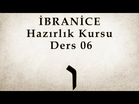 2019 Güz Dönemi - Hazırlık Kursu - Ders 06