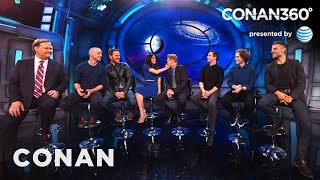 "CONAN360: The Cast Of ""X-Men: Apocalypse"" On Their Mutant Wardrobe"