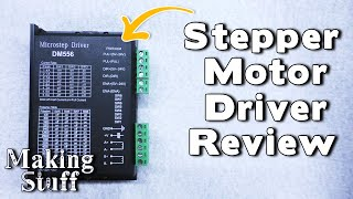 DM556 Open Loop Stepper Motor Driver Review for CNC Machines.