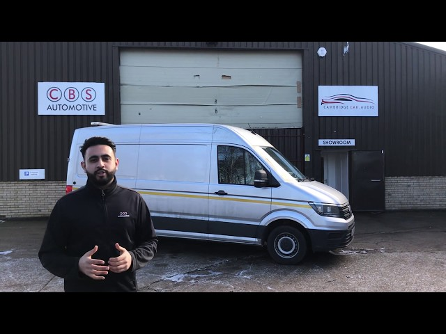 2018 VW Crafter - Commercial Upgrade - CBS Automotive