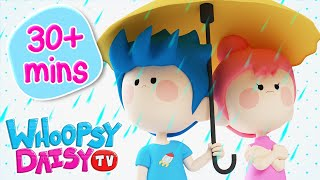 Rain Rain Go Away | The Wheels on the Bus & More Nursery Rhyme…