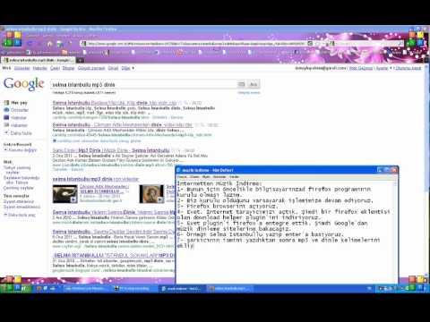 Firefox ile müzik (mp3) indirme