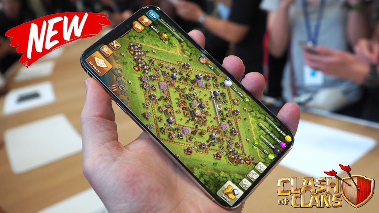 new iphone lost clash of clans