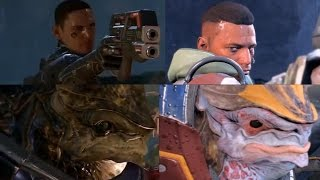 Mass Effect: Andromeda Alpha vs Final Product Comparison