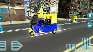 👮🛺Police Tuk Tuk Auto Rickshaw Driving Game 2021 || Android Game FHD🎮🎮 screenshot 3