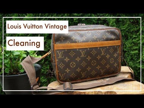 Louis Vuitton Vintage Tasche reinigen I Cleaning my Louis Vuitton Bag I KatisWeltTV