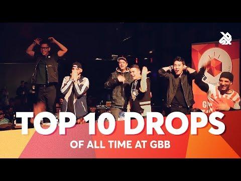 TOP 10 DROPS 😱 Grand Beatbox Battle ALL TIME