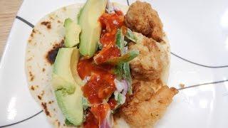 Crispy Shrimp Tacos Recipe With Homemade Slaw