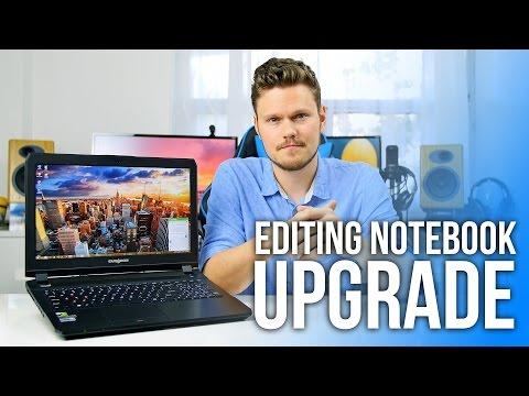 Workstation Notebook Upgrade: 960GB SSD + 16GB RAM